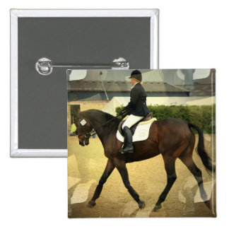 Dressage Competition Square Pin
