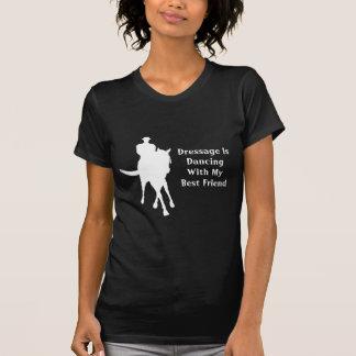 Dressage Dancing Best Friend Horse Dark T-Shirt