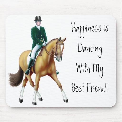 Dressage Dancing Horse Mousepad