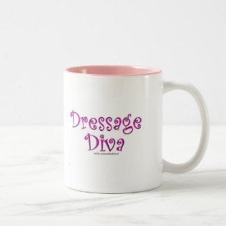 Dressage Diva Two-Tone Coffee Mug