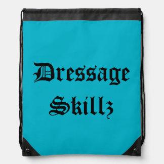 Dressage Drawstring Backpack