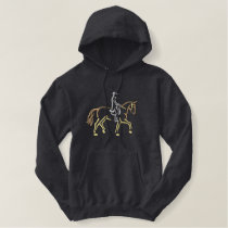 Dressage Embroidered Hoodie