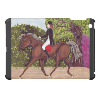 Dressage Equestrian English riding ipad mini case