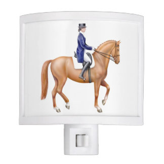 Dressage Equestrian Riding Night Light