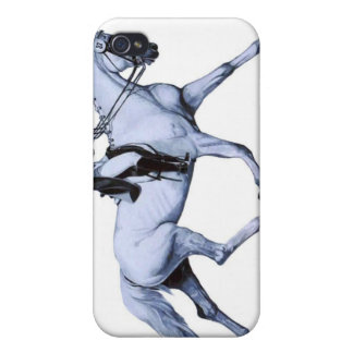 Dressage Extended Trot Case For iPhone 4