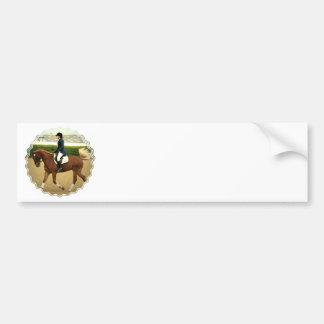 Dressage Extensions Bumper Sticker