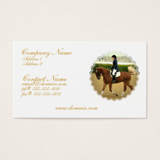 Dressage Extensions Business Card
