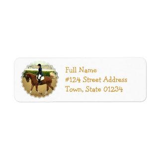 Dressage Extensions Return Address Label