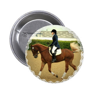 Dressage Extensions Round Button