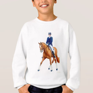 Dressage Half Pass Kids Sweatshirt