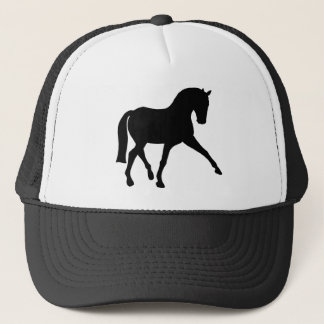 Dressage Half Pass Silhouette Trucker Hat