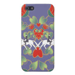 Dressage Hearts and Flowers  Covers For iPhone 5