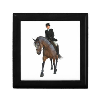 Dressage Horse and Rider Gift Box