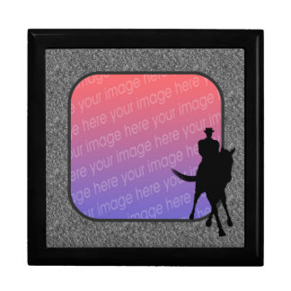 Dressage Horse And Rider Your Photo Gift Box
