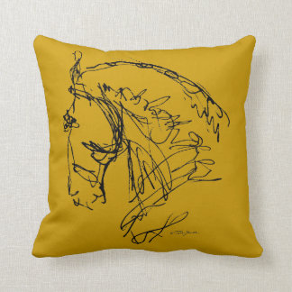 Dressage Horse Big Pillow