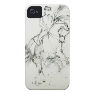 Dressage Horse Case-Mate iPhone 4 Case