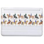 Dressage Horse Equestrian Cooler Igloo Can Cooler