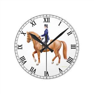 Dressage Horse Equestrian Wall Clock