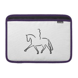 dressage horse funda macbook air