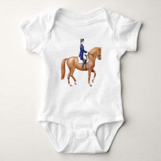 Dressage Horse Infant One Piece Baby Bodysuit