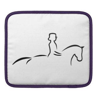 DRESSAGE HORSE iPad SLEEVE