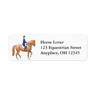 Dressage Horse Label
