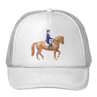Dressage Horse Mesh Hat