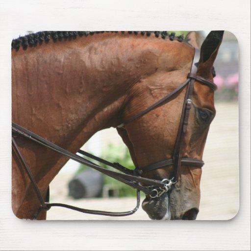 Dressage Horse Mouse Pad