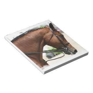 Dressage Horse Notepad
