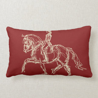 Dressage Horse Pillow