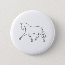 dressage horse pinback button