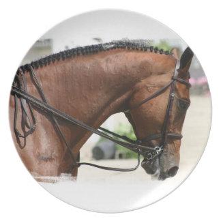 Dressage Horse Plate