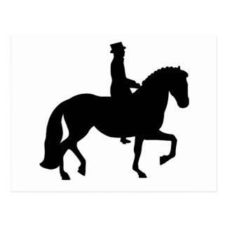 Dressage Horse Post Cards