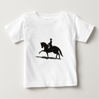 Dressage Horse & Rider Baby T-Shirt