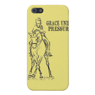 DRESSAGE HORSE & RIDER - GRACE UNDER PRESSURE iPhone SE/5/5s COVER