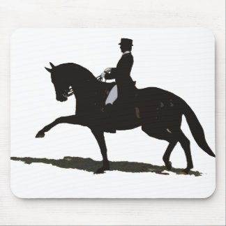Dressage Horse & Rider Mouse Pad