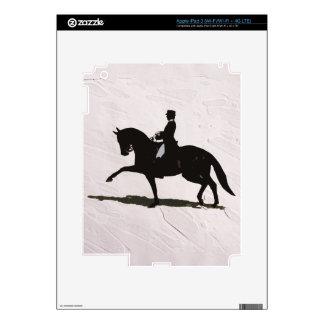 Dressage Horse & Rider iPad 3 Skin