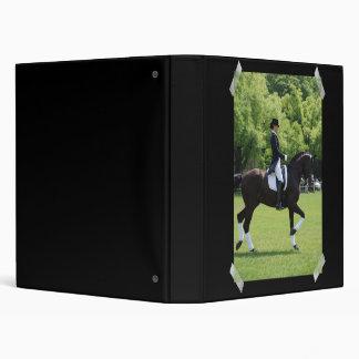 Dressage Horse Show Binder
