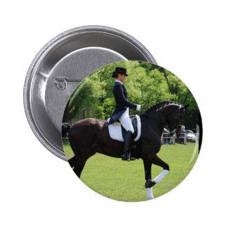 Dressage Horse Show Design Button