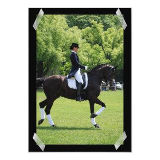Dressage Horse Show Rider Invitation