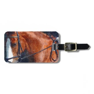 Dressage Horse Tags For Luggage