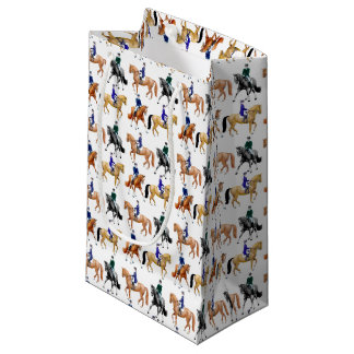 Dressage Horses and Riders Equestrian Gift Bag