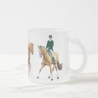Dressage Horses Equestrian Mug