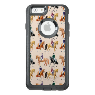Dressage Horses Equestrian Otterbox iPhone Case
