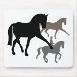 Dressage Horses Trio Mouse Pad