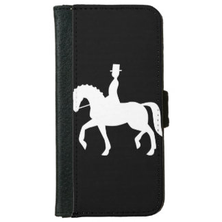 dressage icon iPhone 6 wallet case