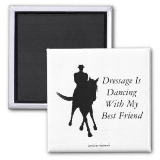 Dressage is Dancing Best Friend Horse Magnet