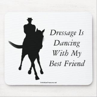 Dressage Is Dancing Best Friend Horse Mousepad