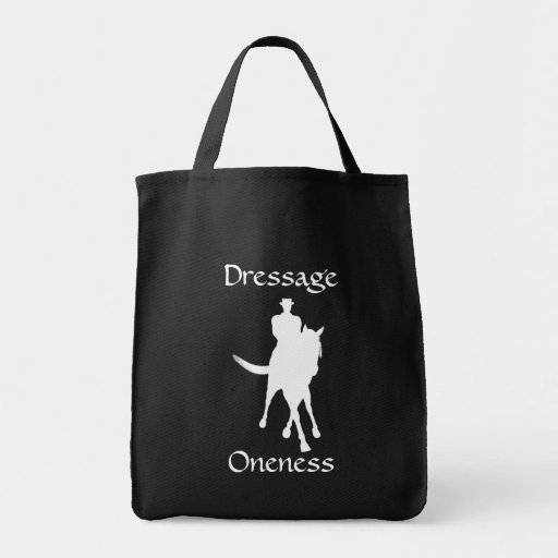 Dressage Is Oneness Tote Bag