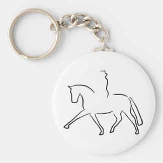 dressage key chains